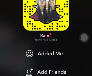 network, snap, and add me image