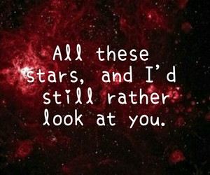 galaxy, quote, and stars image