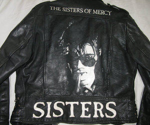 jacket, sisters of mercy, and the sisters of mercy image