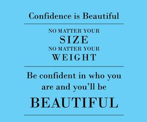 beautiful, quote, and confidence image