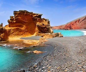 Island, lanzarote, and nature image