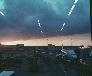 airport, california, and photography image