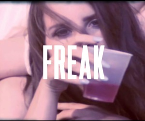 freak, honeymoon, and lana del rey image