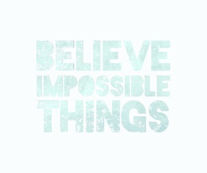 believe, inspired, and turquoise image