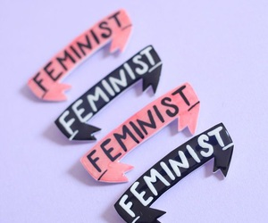 feminist, pink, and aesthetic image