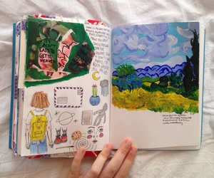art, indie, and drawing image