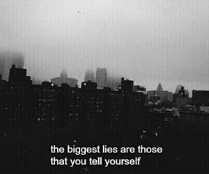 city, hipster, and lies image