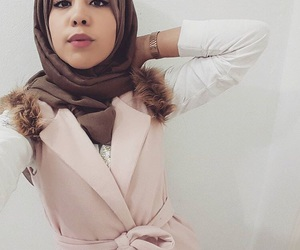 beauty, muslim, and stylé image