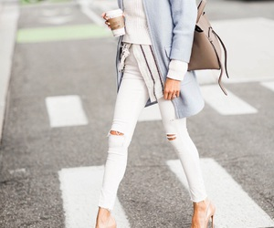 chic, outfit, and fashion image