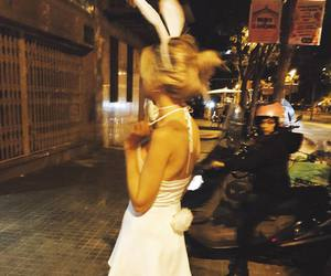 blonde, custome, and bunny image