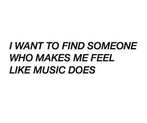 quote, music, and feelings image