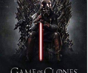game of thrones, star wars, and darth vader image