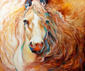 drawing, fine arts, and unicorn image
