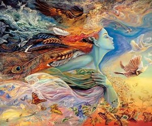 colorful, metaphor, and painting image