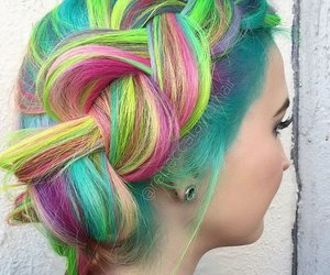 awesome, hairextensions, and beauty image