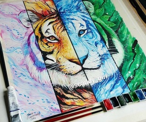 art and tigers image