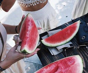 amazing, water melon, and summer image