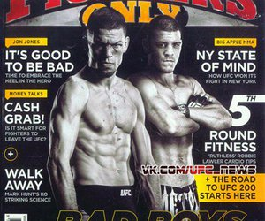 athletes, fighters, and magazine image