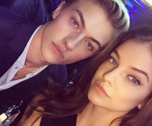 barbara palvin, lucky blue smith, and beautiful image