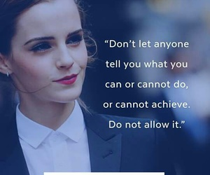 believe, emma watson, and quote image