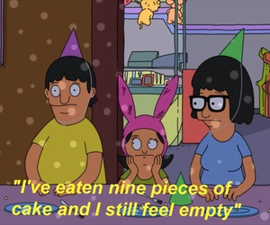 cake, funny, and bobs burgers image