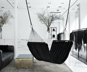 room, black, and home image