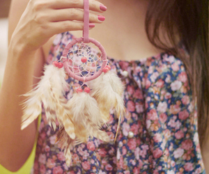 girl, dreamcatcher, and Dream image