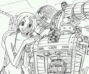 anime, cola, and one piece image