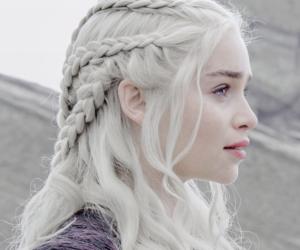 emilia clarke, game of thrones, and khaleesi image