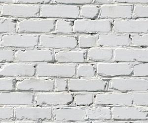 brick, white, and wall image