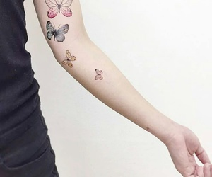 arm, ink, and minimalistic image