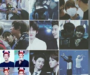exo, instagram, and baekyeol image