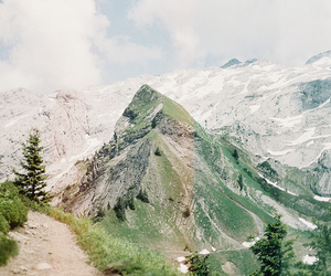 mountains, indie, and nature image
