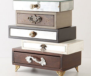 Anthropologie and jewelry box image