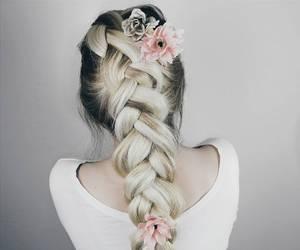 beauty, fashion, and long hair image