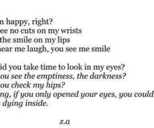 sad, Darkness, and depressed image