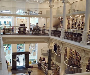 architecture, beautiful, and book store image
