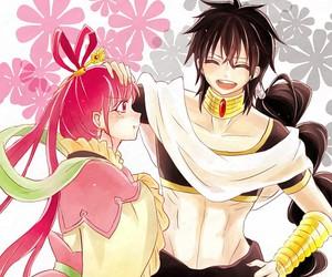 magi, anime couple, and judal image