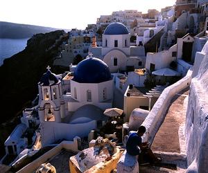 Greece and sea image