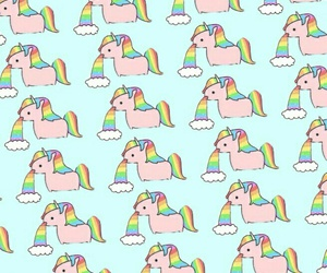 wallpaper, background, and unicorn image
