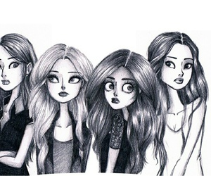 pretty little liars and art image