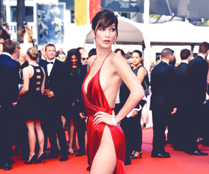 bella hadid, model, and cannes image