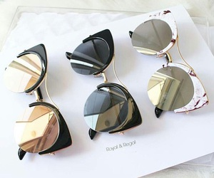 sunglasses, summer, and style image