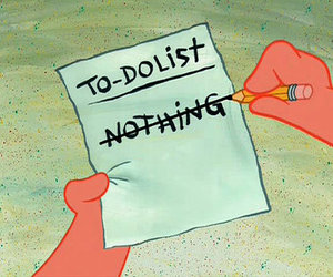 to-do list and patrick the star image