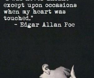 edgar allan poe, heart, and insane image