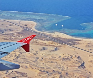 egypt, airberlin, and fly image