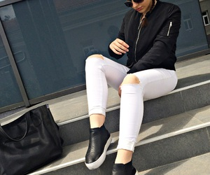 bags, casual, and girl image
