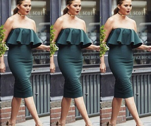 fashion, casual style, and chrissy teigen image
