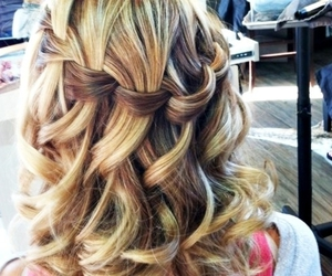 blond and braid image