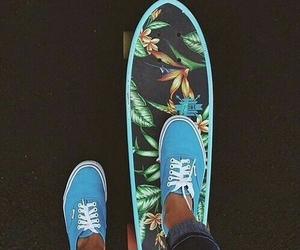 summer, vans, and skate image